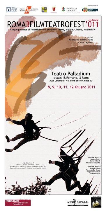 logo roma 3 film teatro festival 2011