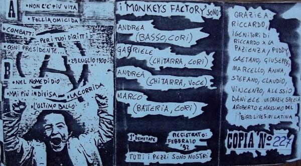 monkeys factory