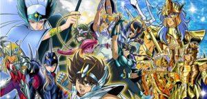 I famosissimi Cavalieri di Atena nella versione cartone animato