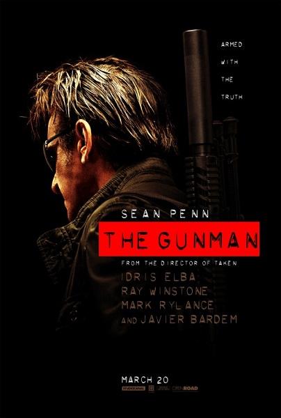gunman, sean penn