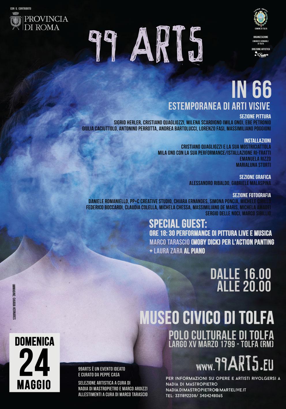locandina-99ARTS-24-maggio