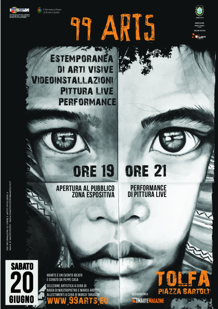 locandina 99ARTS-stampa