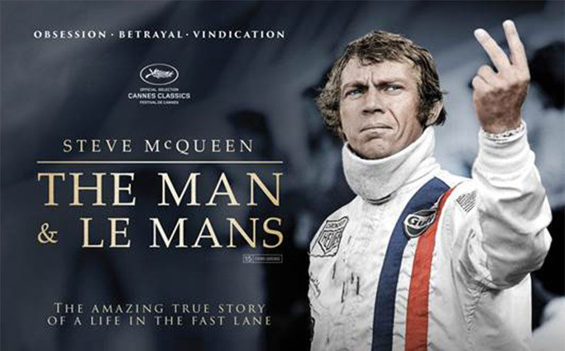 in dvd il documentario steve mcqueen the man le mans. Black Bedroom Furniture Sets. Home Design Ideas