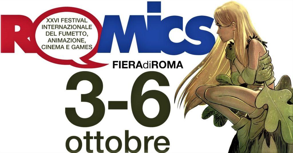 Risultati immagini per romics dal 3 al 6 ottobre