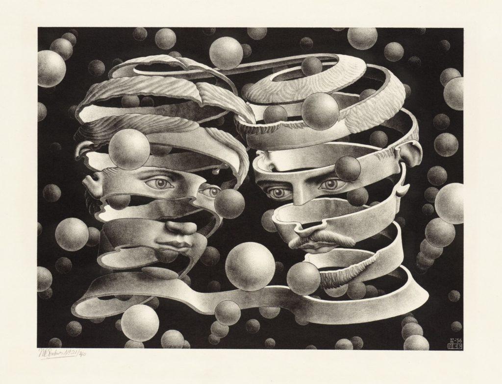 Escher-Viaggio nell'infinito