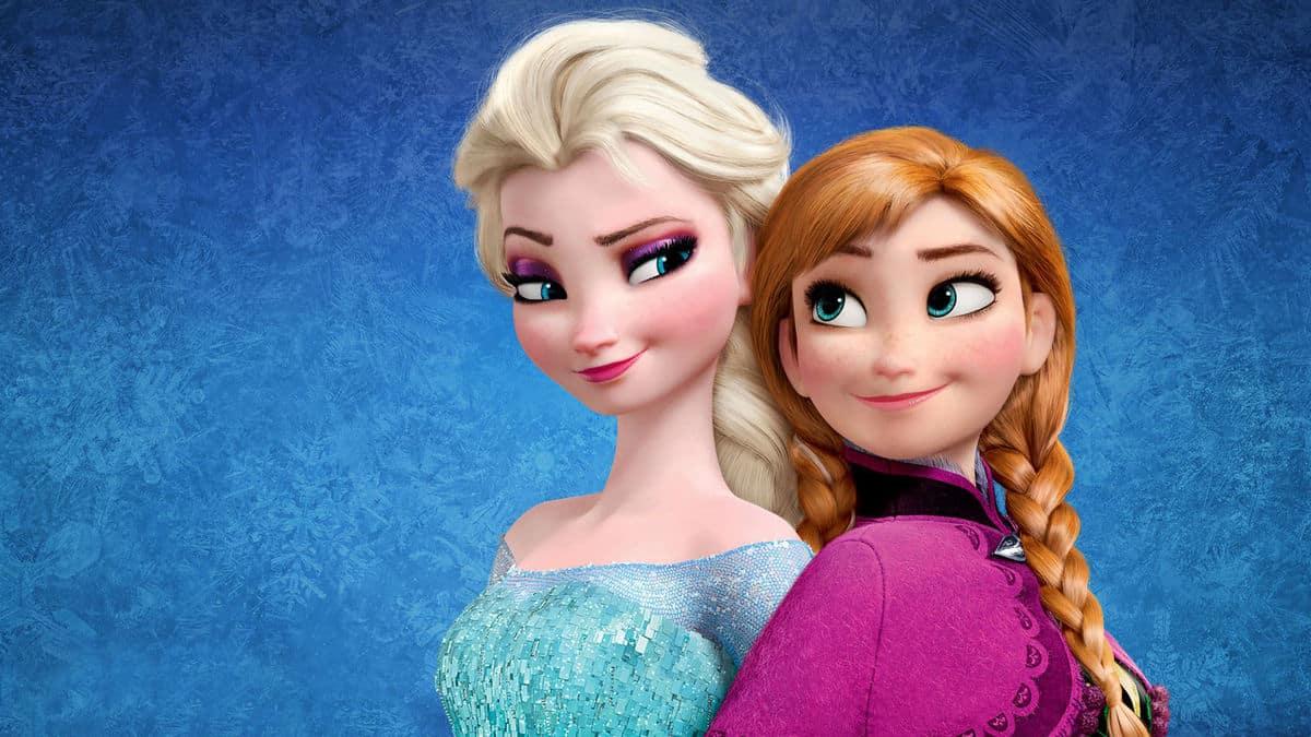 Frozen film per bambini