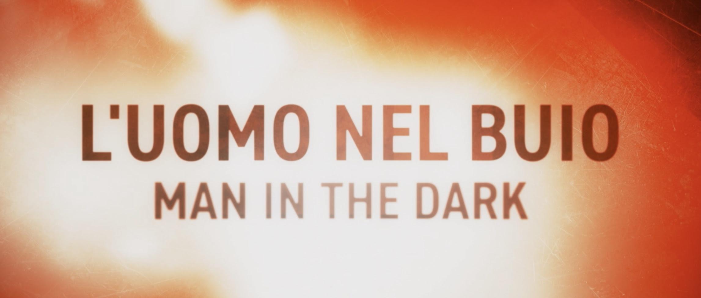 l'uomo nel buio poster