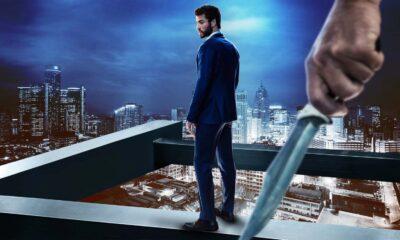 Most Dangerous Game, immagine promozionale con Dodge su un terrazzo e un uomo con coltello alle sue spalle